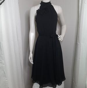The Limited black halter dress